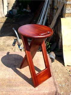 Folding stool with your own hands. Discussion on LiveInternet - Russian Online Diaries Service