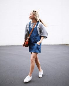 Style Your Denim Dress For AW16