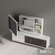 Room Design Bedroom, Bedroom Furniture Design, Living Room Built Ins, Living Room Interior, Tv Wall Decor, Room Decor, Tv Rack Design, Tv Wall Cabinets, Sweet Home Design