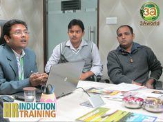 Mr. Prakash Arya, AVP-MARCOM sharing his views with the participants of Training & Induction Workshop.