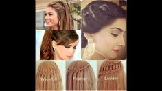 wedding bridal pakistan  indian new fashion hair cuts style for womens g...