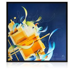 Abstract blue Painting, oil painting on canvas by Amaury Dubois artist. Blue Abstract Painting, Oil Painting On Canvas, Oil Paintings, Painting Art, Easy Canvas Art, Mini Canvas Art, Warrior Concept Art, Dark Art Photography, Summer Art Projects