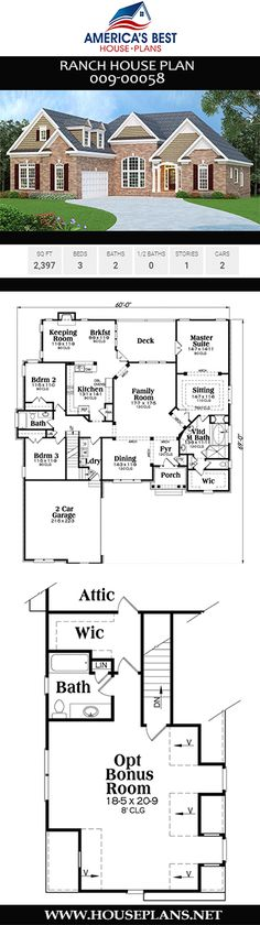 180 Best Ranch House Plan images in 2020 | Ranch house plans ... Ranch House Plan With Bat on ranch style house interiors, ranch style house plans elevation, cabin plans with, ranch house plan for elevation, ranch style house with porch, ranch style house plan front view, ranch walkout plans, ranch house style kitchens, ranch house floor plans, ranch house in sanford florida, ranch log house, ranch house layouts,