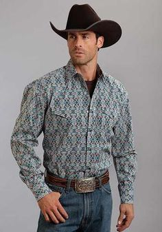 Manufacturer: Stetson Style#: 11-001-0425-0782 Description: Stetson makes some of the most classic western shirts around- and this it no exception. Classic snap front shirt featuring logo snaps. Has t
