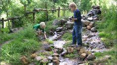 Wil je water in je tuin, gebruik dan het regenwater dat op je eigen dak valt. Als je het loskoppelt van de riolering en via een waterzuil of rechtstreeks naar een daarvoor geprepareerd stukje tuin voert creëer je een wadi in je achtertuin.