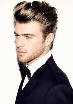 Looking for the perfect men's quiff hairstyles? We've tracked down over 50 of the best pompadour hairstyles and haircuts to get you looking the goods. Quiff Hairstyles, Pompadour Hairstyle, 2015 Hairstyles, Cool Hairstyles, Hairstyle Men, Hairstyle Ideas, Fashion Hairstyles, Quiff Haircut, Hairstyle Photos