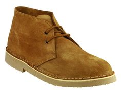 SAHARA Unisex Suede Leather Desert Boots Tan *** Wow! I love this. Check it out now! : Desert boots