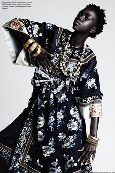 DYNAMIC AFRICA - devoutfashion: NYAMOUCH for FASHION 360 magazine