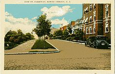 1920's Postcard of 79th St. and Bergenline Ave in North Bergen,NJ - Then and Now