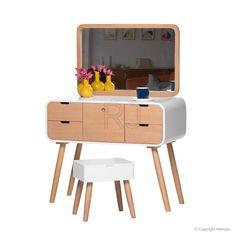 Buy Polly Dressing Table   Scandinavian Table   Storage Solutions – Retrojan 549