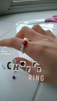 Diy Beaded Rings, Diy Jewelry Rings, Diy Jewelry Unique, Diy Jewelry To Sell, Diy Jewelry Necklace, Handmade Wire Jewelry, Diy Crafts Jewelry, Bracelet Crafts, Bead Jewellery