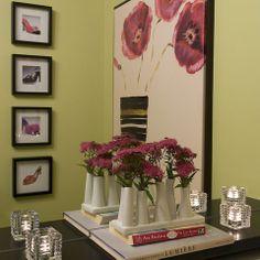 Torre & Tagus - Eva stem vase & line votive glass holders