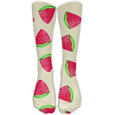 Watercolor Watermelon Fashion Knee High Graduated Compression Socks For Women And Men,Running  #MedicalSuppliesEquipment