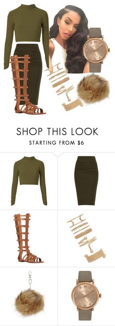 """She look Like Aaliyah..."" by beautyqueen-927 ❤ liked on Polyvore featuring Yves Saint Laurent, Forever 21, Topshop and Marc by Marc Jacobs"