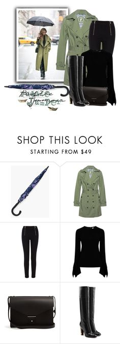"""""""Untitled #1083"""" by m-jelic ❤ liked on Polyvore featuring Chico's, Save the Duck, Karen Millen, Victoria Beckham, PB 0110, Marc Jacobs and rainydayoutfit"""