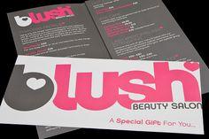 B-lush Beauty Salon Branding | Flickr - Photo Sharing!
