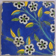 Tile, made in Iran, 17th c.