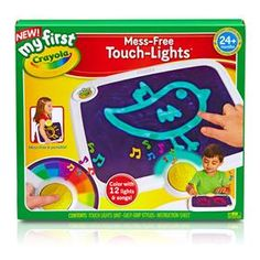 Crayola My First Mess Free Touch Lights Activity Pad - Kmart