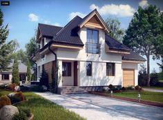 Projekty domów z wejściem od południa – House Invest