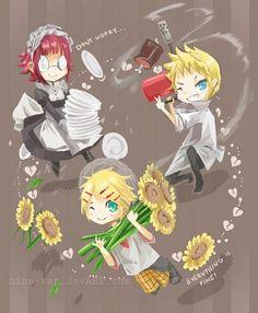 Tags: Kuroshitsuji, Finnian, Maylene, Bardroy