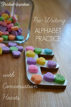 When it comes to writing, I begin by teaching children letter formation without a pencil or pen. Instead, we do themed activities just like this pre-writing alphabet practice with conversation… More