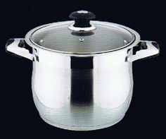 Professional 18/10 Stainless Steel 12 Quart Stockpot w/ Glass Lid