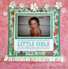 Little Girls Scrapbooking Ideas