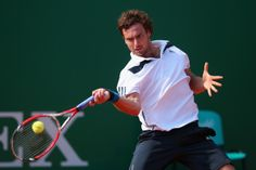 Ernests Gulbis Photos - ATP Masters Series: Monte Carlo Rolex Masters - Day One - Zimbio