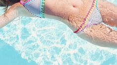 Kiini Bikinis Are Bringing Boho Vibes To The Beach With #Crochet Swimwear