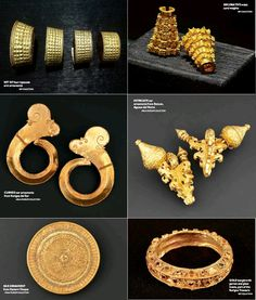 Ancient Philippine gold ornaments Philippines People, Visit Philippines, Philippines Culture, Philippines Food, Ancient Jewelry, Antique Jewelry, Philippine Holidays, Philippine Art, Pearls