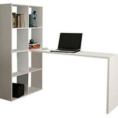 Mesa para Computador BE3806 com Estante Branca - BRV