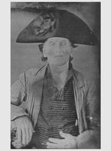 Amazing photograph!!! This man fought in the American Revolution  under the command of General George Washington. A rare daguerreotype of Captain George Fishley, taken in 1850 when he was 90 years old.