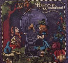 alice in wonderland halloween decor | Que Bella~: Alice in Wonderland Halloween Paper!