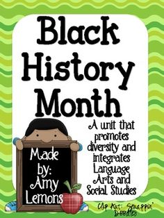 "Looking for some new and fresh activities for Black History Month?  This pack includes writing, reading, vocabulary, crafts, and more!  Download includes: -An original poem ""Black History Month"" -Vocabulary word cards (2 pages) -Vocabulary flapbook -Venn Diagram -MLK Speech activity -Activity for George Washington Carver:  PB & J How To Writing activity- includes making a book shaped like a sandwich, all templates included, prewriting activity and rough draft paper -Crayon Box That ..."