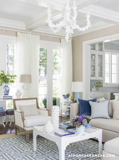 Hannah chair by oly- nice light neutral room