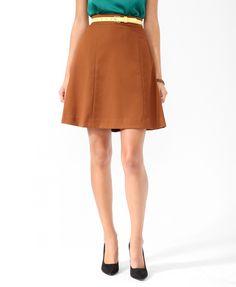 Essential A-Line Skirt | FOREVER21 - 2017306772