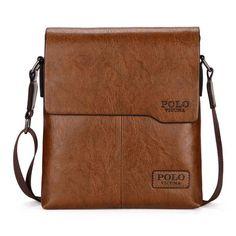 e4bc7f3634b Genuine Leather Men s Day Bag