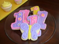 Hugs & Stitches First Birthday Cookies
