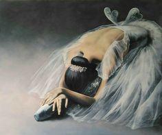 Ballerina painting by Agata Mikulska-Sienkiewicz, acryl on canvas, cm Ballerina Painting, Ballerina Art, Ballet Art, Ballet Dancers, Ballerinas, Ballerina Project, Dancing Drawings, Art Drawings, Ballet Illustration