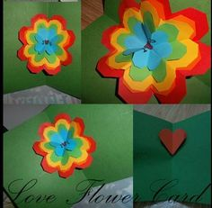 A card with 'FLOWER LOVES'