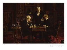 The Chess Players Lámina, publicada en http://descarga-ajedrez.blogspot.com, puedes comprar este poster en http://descarga-ajedrez.blogspot.com/ #Ajedrez #Chess