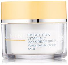 My new favorite face cream. It makes my look all glowy and healthy. Lumene Bright Now Vitamin C Day Cream SPF Fluid Ounce Now Vitamins, Program Design, Vitamin C, Skin Care Tips, Moisturizer, Hair Care, Shampoo, Cream