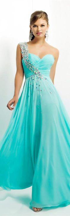 Tulle Aqua Blue Prom Dresses Designed by Tarik Ediz A Line Off-the-shoulder Long Mint Applique Dynamic Dress Custom-made.