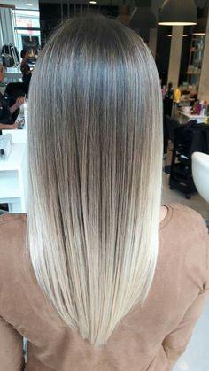 V Schnitt Für Lange Haare Frauen Frisuren Pinterest Hair Hair