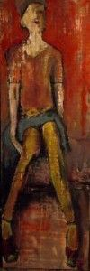 figure_green stockings | Shellie Lewis Dambax
