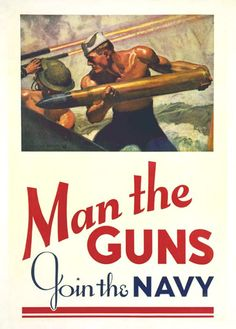 man the guns join the navy poster 2018-6-12  amazoncom: man the guns join the navy vintage world war ii reprint poster 24x36 inch: posters & prints.