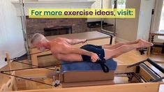 Pilates Exercises are especially helpful for mature athletes. The Pull-Straps and T-Straps exercises can develop the lats, rhomboids, and posterior deltoids directly responsible for improved posture. Click-through to learn more about Pilates and see additional exercise ideas. #pilates #exercises #ideas #strengthen #back #muscles #reformer #posture #mature #athletes #lats #rhomboids #deltoids #posteriorchain #over50 #overfiftyandfit #fitness #workout #health