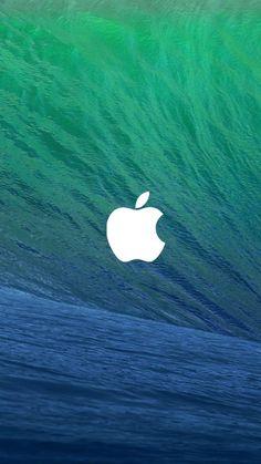 OS X Mavericks iPhone 6 Wallpaper 30304 - Logos iPhone 6 Wallpapers #Logo #Water #iPhone #6 #Wallpapers