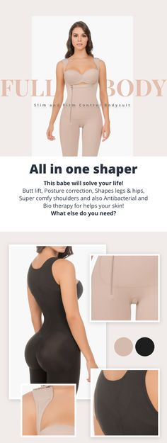 Fajate New Super invisible Control seamless shaper Colombian Girdles second skin