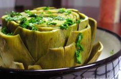 Easy Italian Steamed Artichokes